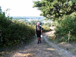 Aufstieg auf den Buechberg